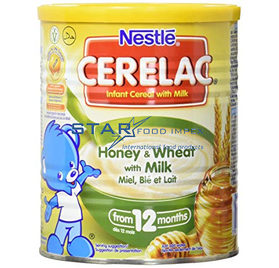 Cerelac Honey and wheat with Milk