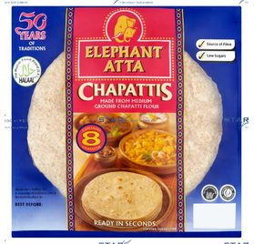 Chapaties Ready To Eat 8's
