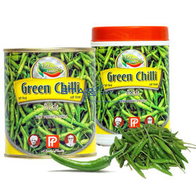 Green Chill Pickles 800g (Panipat)