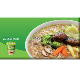 Inst. Cup  Nudeln vegetable flavour