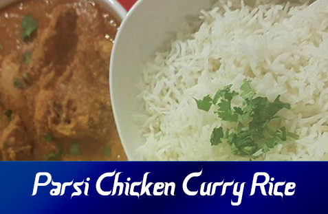 Parsi Chicken Curry Rice